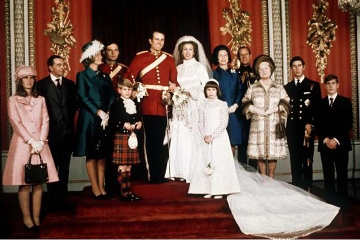 Wedding of Princess Anne and Captain Mark Phillips
