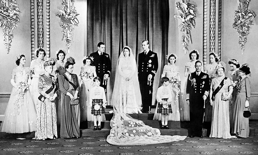 Wedding of Queen Elizabeth and Prince Phillip