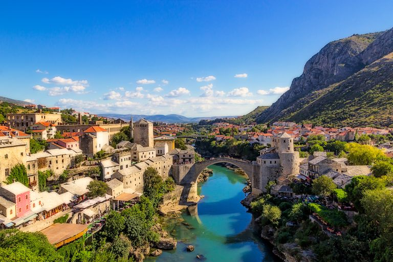 Tours in Europe - Balkans bridge